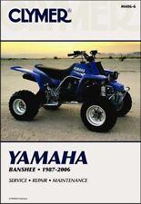 1987-2006 Yamaha YFZ350 YFZ 350 Banshee ATV Quad CLYMER REPAIR MANUAL M486