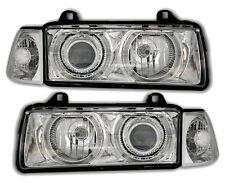 ANGEL EYES Headlights in chrome clear finish for 3er BMW E36 salon wagon compact