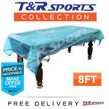 8FT Pool Snooker Billiard Table Cover Weighted Corner Waterproof Free Post