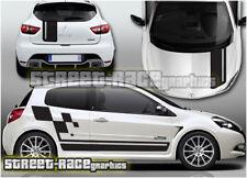 Renault Clio Cup 001 Sticker Kit Graphics DECALS VINYL MK1 MK2 MK3 stickers