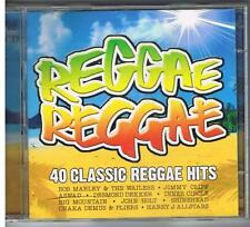 REGGAE REGGAE - 40 CLASSIC REGGAE HITS - UNIVERSAL 2009 - 2 CD