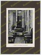 ORIG. impresión fotográfica-gramófono cargar schellacks Josef Hoffmann art deco Viena 1930