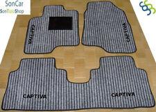 CHEVROLET CAPTIVA tapis tapis de voiture +4 logos+ 4block