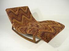 60's Vintage Danish Modern Pearsall Craft Associates Rocking Chaise Kagan Era