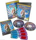 HANNAH MONTANA e MILEY CYRUS Best Of Both Worlds Concert (2007) 2 DVD BOX 3-D