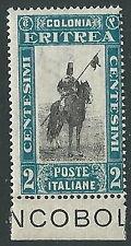 1930 ERITREA SOGGETTI AFRICANI 2 CENT MNH ** - M29-3
