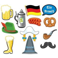 Oktoberfest Bavarian Beer Festival Party Photo Booth Selfie Props Decoration