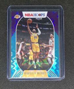 🏀 Markieff Morris Panini NBA HOOPS 2020-21 LA Lakers No.171 Teal Explosion
