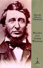 Walden and Other Writings by Henry David Thoreau (Hardback, 1994)