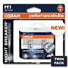 H1 OSRAM NIGHT BREAKER UNLIMITED VAUXHALL CALIBRA 90-97 HIGH BEAM HEADLAMP BULBS