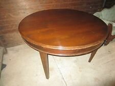 """Antique mahogany dining table, 52"""" x 86"""" when fully extended, circa 1910"""