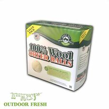 Maple Hill Dryer Balls set of 4 Outdoor Fresh Wool Dryer Balls