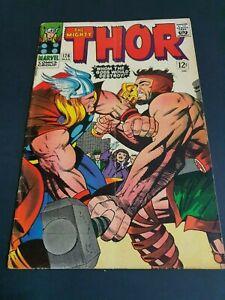 The Mighty Thor #126 Original Marvel Comic (1966 )
