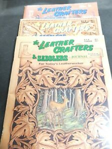 Vintage The Leather Crafters & Saddlers Journal Volume 12 No. 1-6