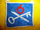 6th Infantry Brigade Silk Formation Sign / Patch - British