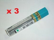 3x Pentel spare lead 0.7mm 2H refill leads 4 mechanical pencils replacement lead