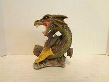 1995 Enchantica Saberath Promotional 4 Inch Tall Porcelain Dragon Figurine