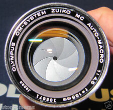 OLYMPUS OM-SYSTEM ZUIKO MC AUTO-MACRO 1:4.5 f=135mm lens for Bellows / Auto Tube