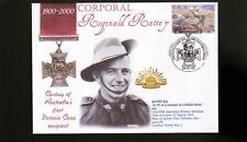 Australian Anzac Victoria Cross 100th Anniv Cov, Corp Reg Rattey