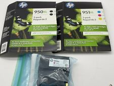 HP 951 xl 950 xl Black and Color Ink