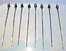 WOW Set of 8 800 Silver Skewers