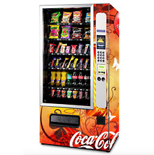 Touch Screen Coke Vending Machine Soda Snack Candy Combo Dispenser Cashless