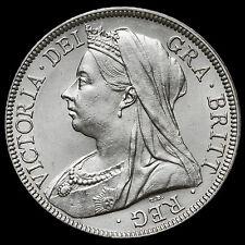 1895 Queen Victoria Veiled Head Silver Half Crown – AU