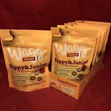 14 Wagg Puppy Junior Treat Chicken Yoghurt Meaty Bite Calcium Healthy Teeth Bone