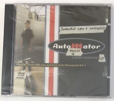 AUTOMATOR  Much Better Tomorrow CD NEW Sealed Copy RARE Kool Keith Dr. Octagon