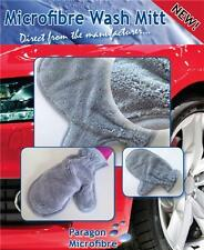 Microfibre Wash Mitt, Car Cleaning, Polishing, Paintwork, Soft