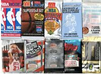 x10 Different Multi Sport Factory Sealed Packs Michael Jordan Menendez Topps Rc+