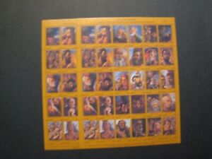 Palau Souvenir Stamp Sheets MNH OG Lot of 2 Topic: In Our Image