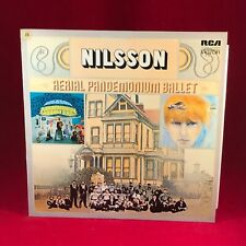 NILSSON Aerial Pandemonium Ballet 1972 UK VINYL LP EXCELLENT CONDITION