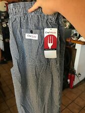 4Xl Chef Works Pants Black And White Checkered Brand New With Tags