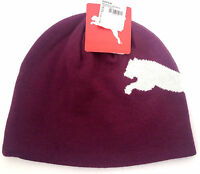 Puma Big Cat Logo Beanie Adult Unisex Knitted Winter Ski Hat 834016 45