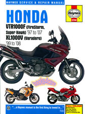 HONDA SHOP MANUAL SERVICE REPAIR BOOK VTR1000F XL1000V FIRESTORM VARADERO HAYNES