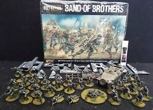 Warlord Games Band Of Brothers WWII Starter set with well painted minis + glue!