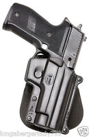 FOBUS PADDLE HOLSTER FOR SIG SAUER 229 + S&W WITNESS SG-21 CONCEAL CARRY PISTOL