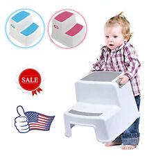 Children Step Stool Chair For Toddler Kid Ladder Anti-Slip Sturd USA Stock