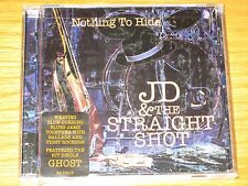 Nothing to Hide by JD & the Straight Shot (CD, Sep-2005, Rhino (Label)) SEALED