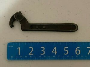 J.H. Williams #0471  Adjustable Pin Spanner Wrench