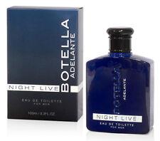BOTELLA NIGHT LIVE for men 100ml Fragrance Perfume Him Spanish Fly Sex Cobeco