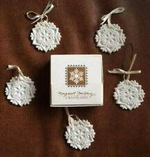 "Margaret Furlong Christmas Ornament. 5 piece lot. ""A Winter Jewel"""