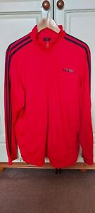 Used Mens Adidas Track Top - XL- Red