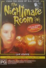THE NIGHTMARE ROOM DELETED RARE CULT DVD CAMP NOWHERE R. L. STINE HORROR FILM