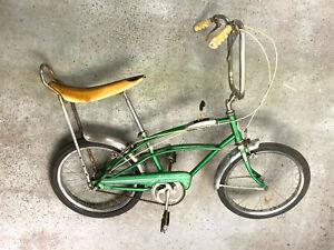 Ross muscle bike bicycle Banana seat 3-speed sissy bar chrome fenders