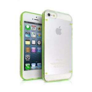 Transparent TPU Gel Case For iPhone 5 5S SE (2016)6 6S & Screen Protector