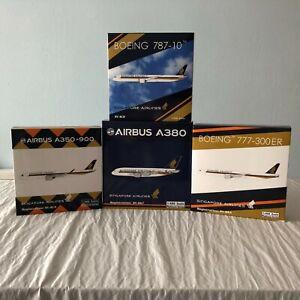 Phoenix Models 1:400 Singapore Airlines (4) Diecast Models