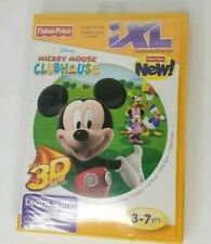 iXL Learning System Fisher Price Disney Mickey Mouse Clubhouse Educational Game