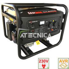 Gruppo elettrogeno 4 Kw GENMAC 4000 generatore di corrente RATO AVR stabilizzato